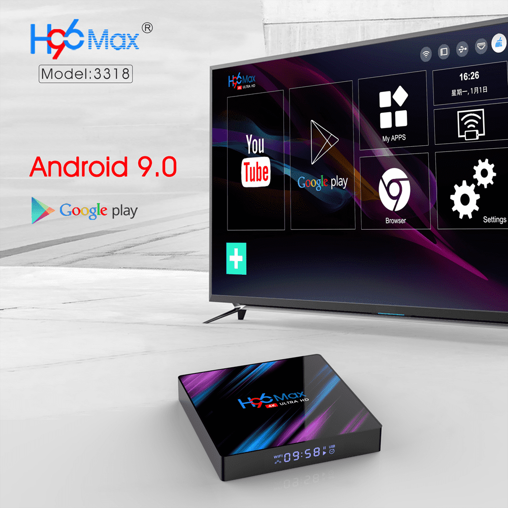 TV Box H96 MAX 4GB/64GB con Android 9.0 por  28'46 euros 1567779655944-png.368751