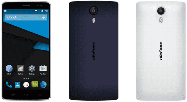 "REVIEW ULEFONE BE PURE. 5"" Pantalla. Octa Core 1,4GHz. 1GB RAM-8GB ROM. CÁMARA 13MP+5MP blanco-y-azul-oscuro-png.85733"