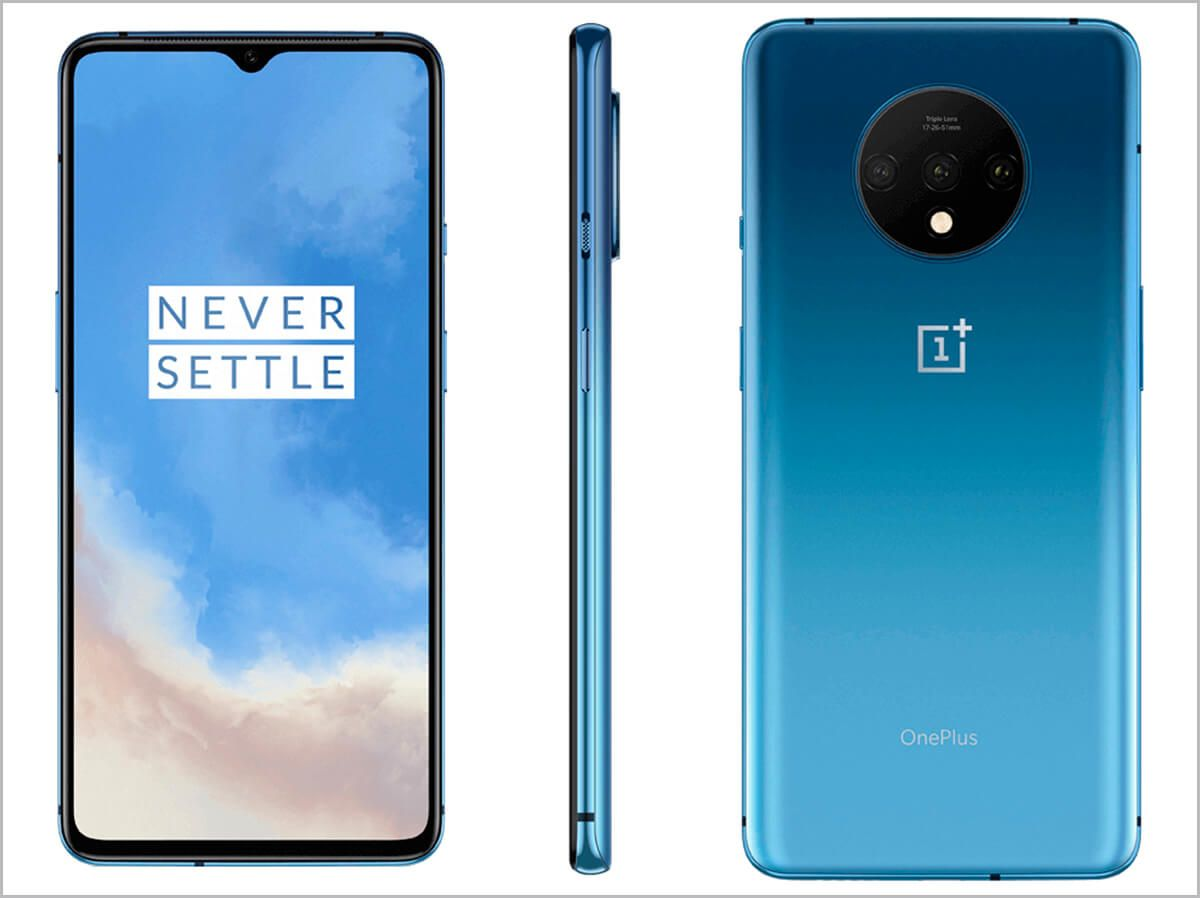 El Pixel 4 contra sus rivales: iPhone 11 Pro, OnePlus 7T y Samsung Galaxy Note 10 oneplus-7t-azul-jpg.371580