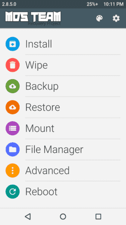 Recovery TWRP 2.8.5.0 -Material design screenshot_1970-01-03-22-11-21-png.85471