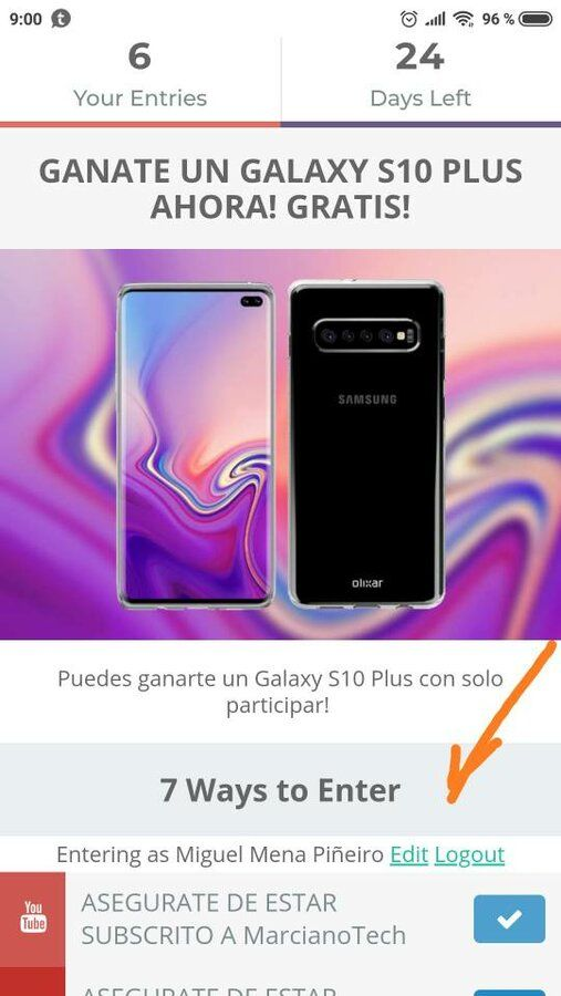 Sorteo Samsung Galaxy S10 Plus Internacional con códigos (13 de Febrero) screenshot_2019-01-20-09-00-32-920_com-android-chrome-jpeg.350070