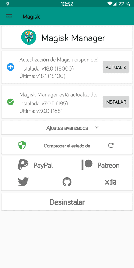 Off-Topic del Xiaomi RMN5. screenshot_magisk_manager_20190204-105229-png.351242