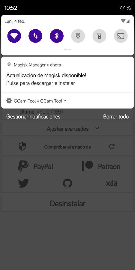 Off-Topic del Xiaomi RMN5. screenshot_magisk_manager_20190204-105241-png.351243