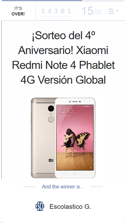Sorteo internacional Xiaomi Redmi Note 4 (versión global) upload_2018-4-8_21-30-0-png.329245