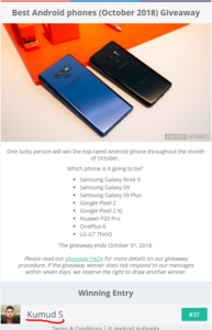 Best Android phones  October 2018  Giveaway.png