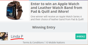 Enter to win an Apple Watch and Leather Watch Band from Pad   Quill and iMore .png