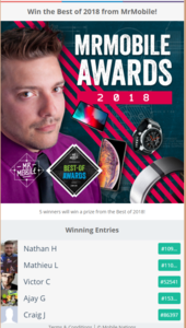 Win the Best of 2018 from MrMobile .png